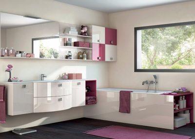 Salle de bain sur mesure à Carnon
